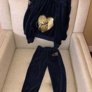 Juicy couture toddler track suit